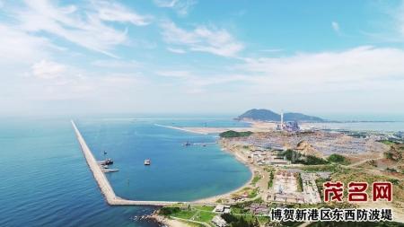广东滨海旅游公路茂名段,形成连接晏镜岭-歌美海-水东湾-博贺湾(渔港)