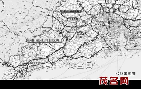记者从广东省南粤交通云湛高速公路管理中心阳