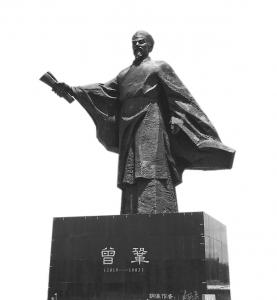 抚州名人雕塑园晏殊