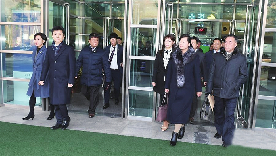 茂名晚报 第2018-01-22期 13版:朝鲜艺术团先遣队抵